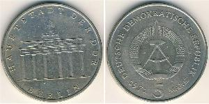 5 Mark República Democrática Alemana (1949-1990) Níquel/Cobre/Zinc