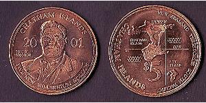 5 Долар Нова Зеландія