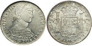 8 Real Peru Silber Ferdinand VII. von Spanien (1784-1833)