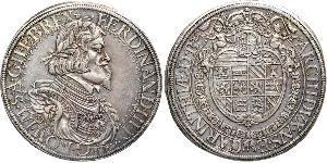 1 Thaler 哈布斯堡君主國 銀 斐迪南三世 (神圣罗马帝国) (1608-1657)
