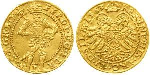 1 Ducat Sacro Imperio Romano (962-1806) / Austria Oro Fernando I de Habsburgo (1503-1564)