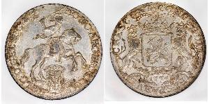 1 Ducaton Paesi Bassi austriaci (1713-1795) Argento