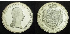 1 Thaler Salzburgo Plata Ferdinand III, Holy Roman Emperor (1608-1657)