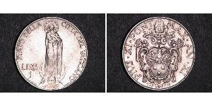 1 Lira Vaticano (1926-) Argento
