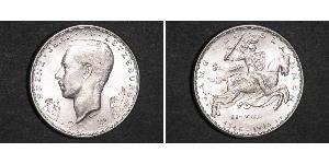 20 Franc Luxemburgo Plata