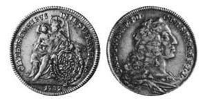 1/2 Carolin Électorat de Bavière (1623 - 1806) Or