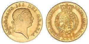 1 Guinea United Kingdom of Great Britain and Ireland (1801-1922) Gold George III (1738-1820)