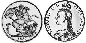 2 Фунт  Золото Виктория (1819 - 1901)
