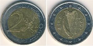 2 Euro Ireland (1922 - ) Bimetal