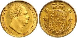 1 Sovereign United Kingdom of Great Britain and Ireland (1801-1922) Gold William IV (1765-1837)