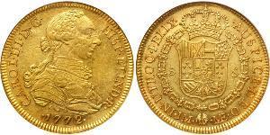 8 Escudo Perú Oro Carlos III de España (1716 -1788)