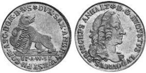 1 Ducat Anhalt-Köthen (1603 -1853) Or Auguste-Louis d