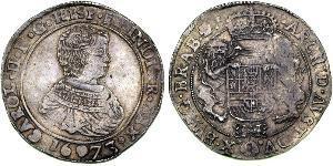 1 Ducaton Dutch Republic (1581 - 1795) Silver Charles II of Spain (1661-1700)