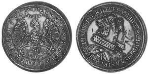 2 Талер Священна Римська імперія (962-1806) Срібло