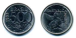 500 Cruzeiro Brésil Acier/Nickel