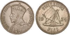 1 Shilling British Empire (1497 - 1949) / Fiji Silver George V of the United Kingdom (1865-1936)