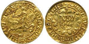1 Florin Reino de los Países Bajos (1815 - ) Oro