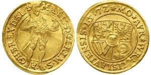 1 Ducat States of Germany Oro Maximiliano II de Habsburgo(1527- 1576)