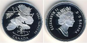 50 Cent Kanada Silber Elizabeth II (1926-)