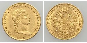 1 Ducat Monarchia asburgica (1526-1804) Oro Francis II, Holy Roman Emperor (1768 - 1835)