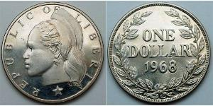 1 Dollaro Liberia