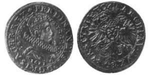 48 Kreuzer Sacro Romano Impero (962-1806) Argento