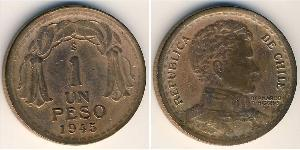 1 Peso Chile Bronze