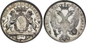 2 Thaler 不來梅州 / 联邦州 (德国) 銀