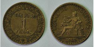 1 Franc French Third Republic (1870-1940)