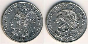 50 Centavo México (1867 - ) Níquel/Cobre