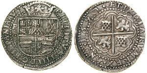 8 Real Bolivia / Viceroyalty of Peru (1542 - 1824) Silver Philip IV of Spain (1605 -1665)