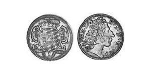 1 Kreuzer Kurfürstentum Bayern (1623 - 1806) Silber