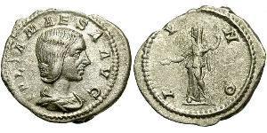 1 Antoninian Römische Kaiserzeit (27BC-395) Silber Julia Maesa (165-224)