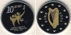 10 Euro Irlande (1922 - ) Argent