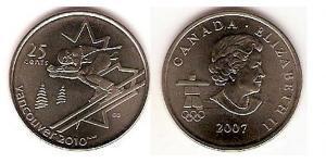 25 Cent Canada Rame/Nichel