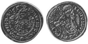 10 Kreuzer 神圣罗马帝国 (962 - 1806) 銀