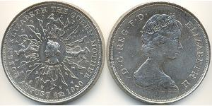 25 Penny Feriind Kiningrik (1922-) Cuivre/Nickel Elizabeth II (1926-)