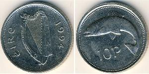 10 Penny Ireland (1922 - ) Copper/Nickel