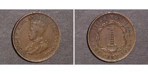 1 Cent British Honduras (1862-1981)  George V (1865-1936)