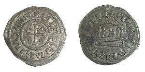 1 Denaro Francia medioevale (843-1791) Argento Lotario I (795 -855)