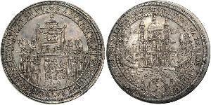 1 Thaler Habsburg Empire (1526-1804) Argent