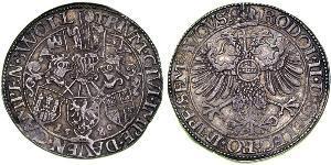 1 Rijksdaalder Provincias Unidas de los Países Bajos (1581 - 1795) Plata Rodolfo II (1552 - 1612)