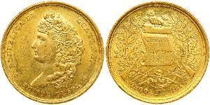 20 Песо Гватемала Золото