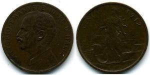 1 Centesimo Kingdom of Italy (1861-1946) Copper