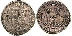 8 Real Spanish Mexico  / Kingdom of New Spain (1519 - 1821) / Peru Silver