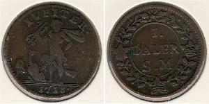 1 Daler Sweden Copper
