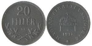 20 Filler Hungary (1989 - ) Steel