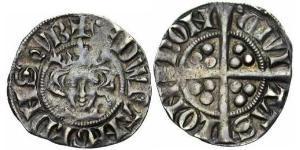1 Penny 英格兰王国 銀 Edward I (1239 - 1307)