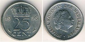 25 Cent Kingdom of the Netherlands (1815 - )
