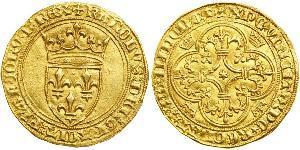 1 Ecu Kingdom of France (843-1791) Gold Charles VI of France (1368-1422)